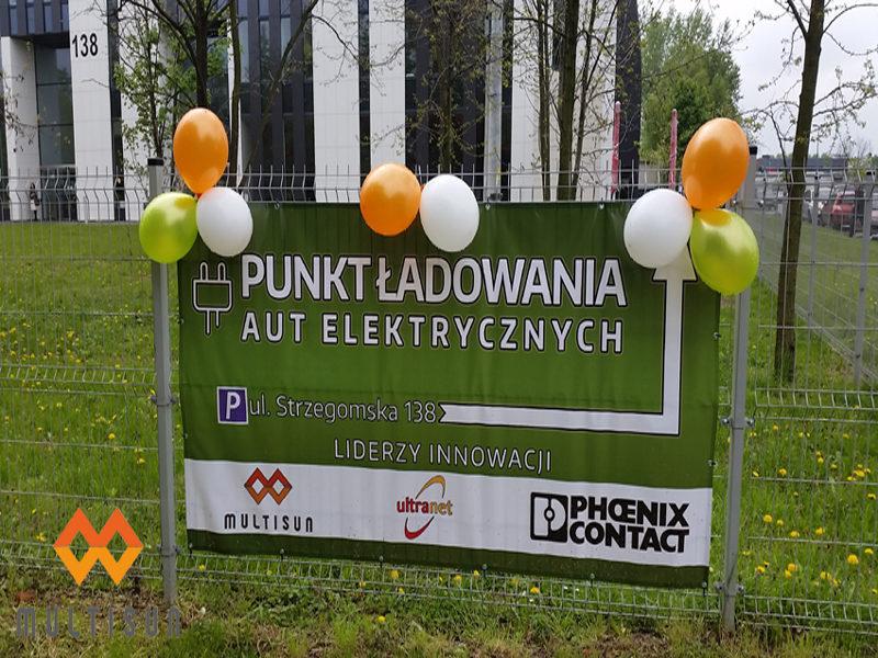 Darmowa stacja do ładowania aut elektrycznych